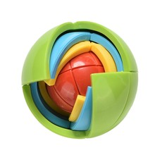 YKLWorld Children 3D Magic Intellect Puzzle Maze Ball Puzzle Game Brain Teaser Educational Kid IQ Training Learning Toy Gift -48