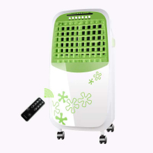 New Green color cooler air cooling fan portable room air conditioning fan floor standing electric air conditioner