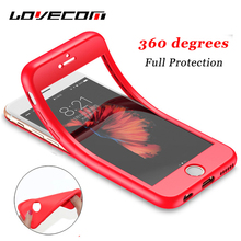 Buy LOVECOM iPhone X 5 5S SE 6 6S 7 8 Plus Phone Case Chinese Red Solid Color Soft TPU & Silicone Flexible Full Body Cases Cover for $1.58 in AliExpress store