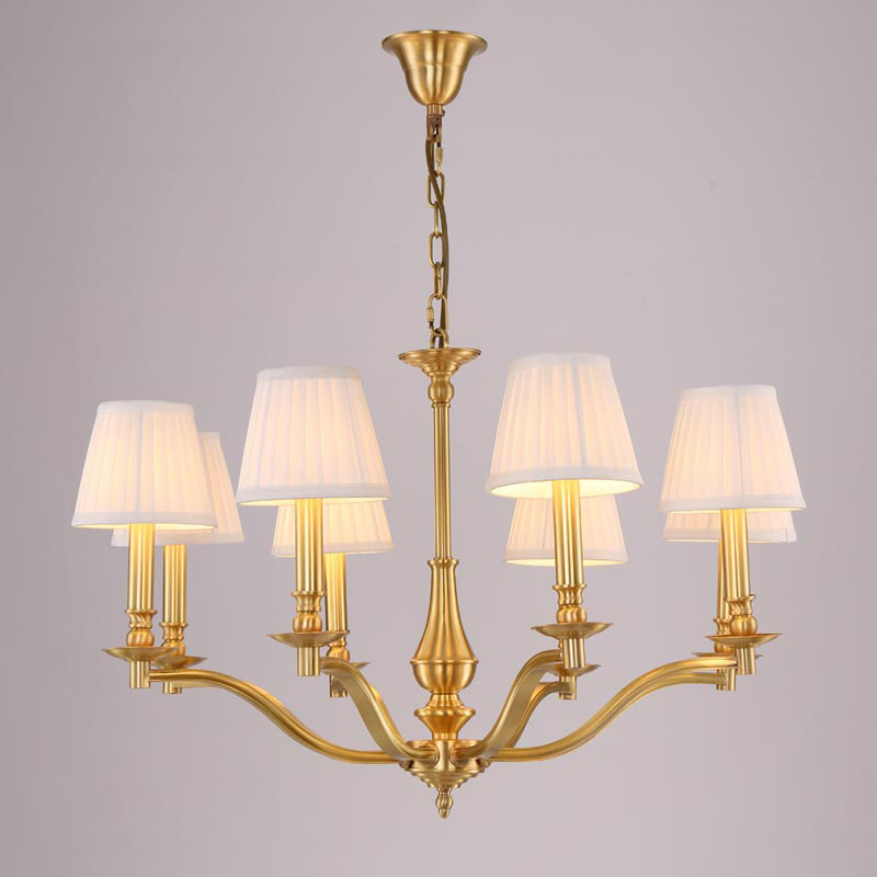Modern Copper Chandeliers For Dining Room Staircase Stair Living Room Lamp Wedding Decor Home Lighting Fixtures E14 110-220V<br><br>Aliexpress