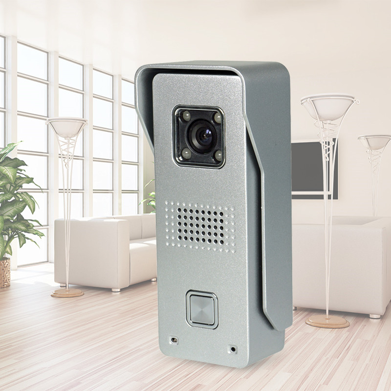 Entrance Machine Color Video DoorBell Outdoor CMOS IR Camera With Night Vision Waterproof Video Door Phone For Intercom System<br>