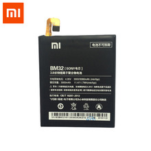 Buy Original Xiaomi Mi 4 Cellphone battery 3080mAh BM32 High Capacity lithium battery pack protection PCB Lithium Polymer for $14.78 in AliExpress store