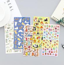 Creative Toy Cartoon Travel Adhesive Stickers Scrapbooking DIY Decoration Stickers Mobile Phone Stickers(China)