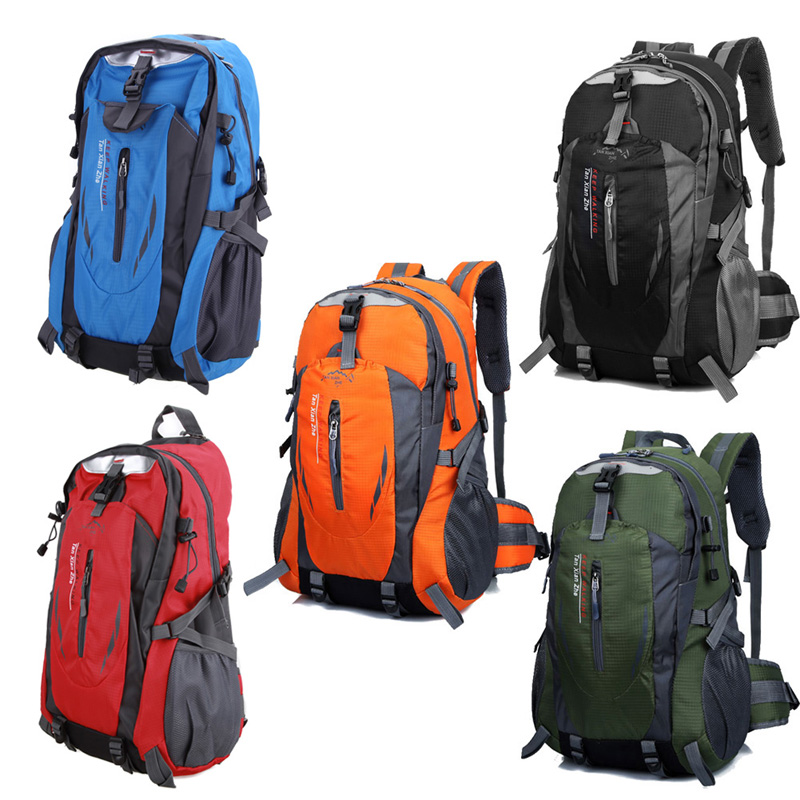 Waterproof Durable Outdoor Climbing Backpack Women&amp;Men Hiking Athletic Sport Travel Backpack Climbing Bags High Quality<br><br>Aliexpress