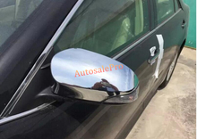 Not fit North American model Chrome Side Door rearview Mirror Cover Trim 2Pcs for Toyota Camry 2015