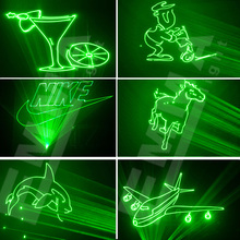 1w green laser 3D animation scanner projector ILDA DMX dance bar Xmas Party Disco DJ effect Light stage Lights Show system