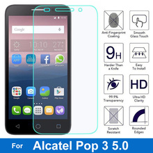 Alcatel One Touch Pop 3 5.0 Screen Protector 9H 2.5D Explosion-proof Tempered Glass Film For Onetouch Pop3 5 5015D 5065D 5015X