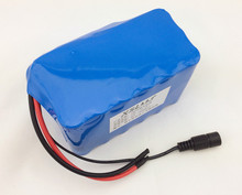 24V 6 Ah 18650 Battery 25.2v lithium battery electric vehicle battery/moped high-capacity+Protection board