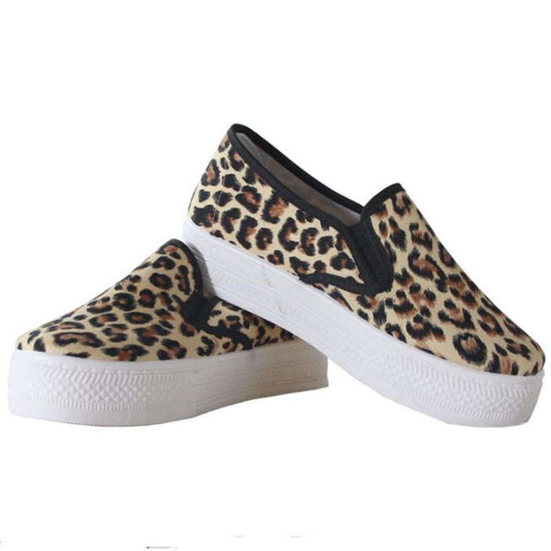 leopard shoes increase New Arrivals Fashion Horse Hair flat Women Casual Board Shoes Leopard Print Flat Bottom Carrefour Shoes<br><br>Aliexpress