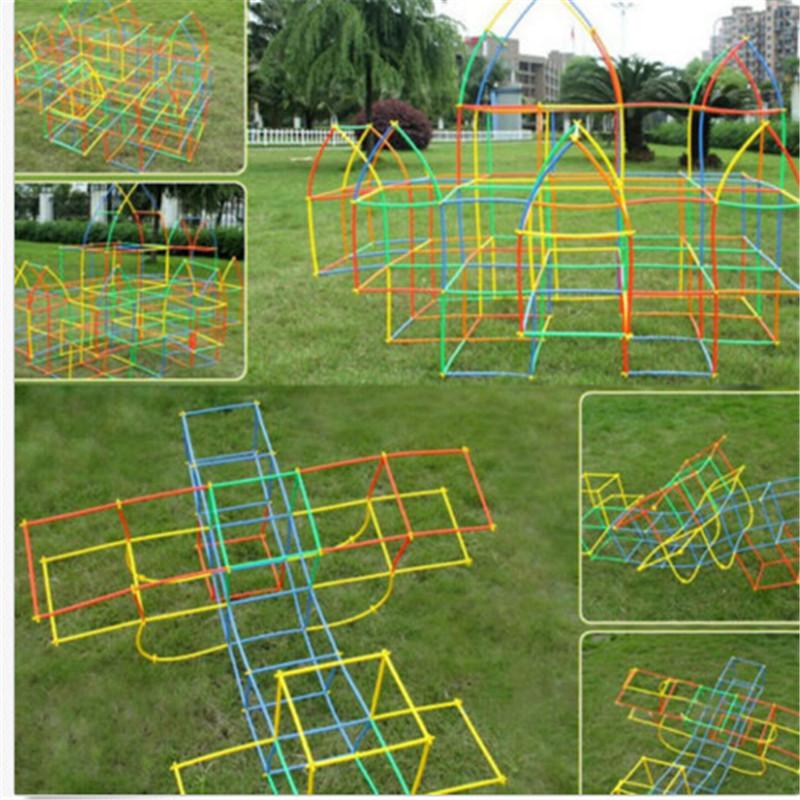 100pcs-Assembled-Building-Blocks-Toy-Children-Educational-Colorful-Plastic-Straw-Fight-Inserted-Blocks-Christmas-Gift-MU890990