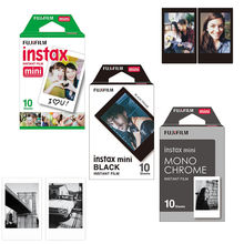 Fujifilm Fuji Instax Mini Film Monochrome Mono/ Black /White Instant Film 30 pcs for Mini 8 70 8 Plus 90 25 Camera SP-1 SP-2