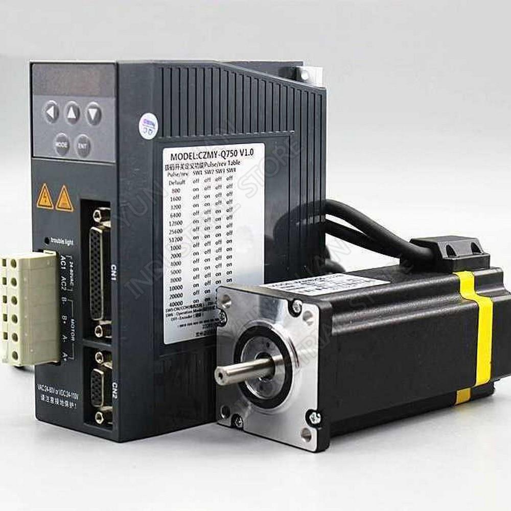 Bucle de cierre 2.2NM 3NM motor paso a paso unidad híbrida DSP Servo Nema 23 para CNC Plotter