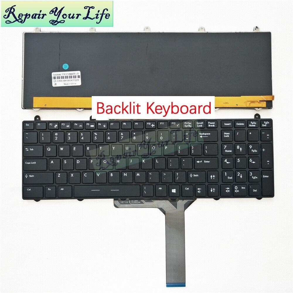 Full RGB MSI GE60 GE70 GT60 GT70 Laptop Black Backlit Keyboard