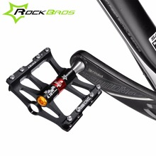 ROCKBROS 4 Bearings Bicycle Pedal Anti-slip Ultralight CNC MTB Mountain Bike Pedal Sealed Bearing Pedals Bicycle Accessories