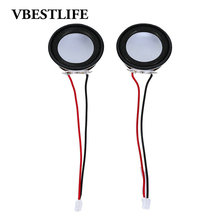 2pcs/Packs VBESTLIFE 4Ohm 3W Full-range Audio Stereo Speaker 40mm Loudspeakers Woofer Speaker New Brand