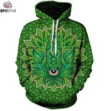 Psychedelic Weed 3D Hoodie Hoodies Men Women 2018 Long Sleeve Autumn WInter Tops Tees Casual Brand Sweatshirt Sweatshirts