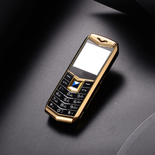 "Mini Luxury A88 Cell Phone With 1.5"" MP3 Camera bluetooth Flashlight Children Phone Metal Mobile Phone(China)"