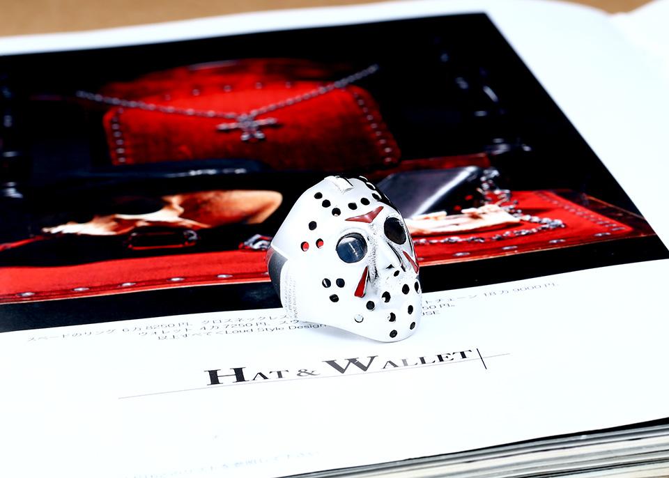แหวนแฟชั่น Code 059 Friday 13 Series 2 สแตนเลส หน้ากากเจสันโหดๆ5
