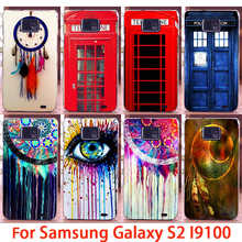 Soft Phone Cases For Samsung Galaxy SII I9100 S2 GT-I9100 Cases Dreamcatchers Hard Back Cover Skin Shell Housing Sheath Bag Hood