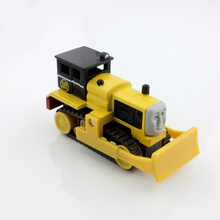 Children's Thomas and friends trains Track master Byron bulldozer mini builder magnetic metal die cast alloy model trains boys