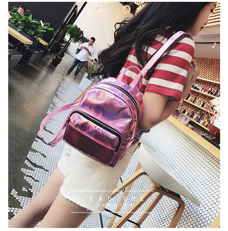 e0b4a82f33d DIOMO Mini Backpack Women Holographic Bag Hologram Female Cute Small  Backpack for Girls. Size  20(W) 23(H) 9(D) CM. Weight  0.4KG. 1 7 15. ABOUT  SHIPPING