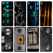 DJ Radio Old Style Case Cover for Sony Ericsson Xperia X XZ XA XA1 M4 Aqua E4 E5 C4 C5 Z1 Z2 Z3 Z4 Z5(China)