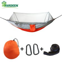 Double & Single 250*120cm Outdoor Camping Tree Hammocks Portable Parachute for Backpacking Survival Travel 4 Colors In Stock(China)