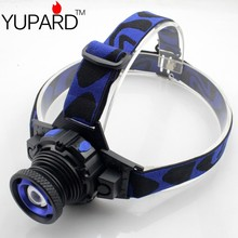 YUPARD Zoomable  CREE Q5 LED camping lantern  fishing headlamp headlight lamp torch miner mining lamp light  battery+charger 5W
