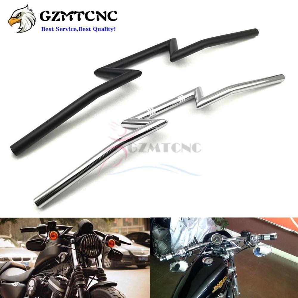 "Motorcycle Hand Grips 1/"" For Harley Davidson Sportster Nightster Roadster 1200"