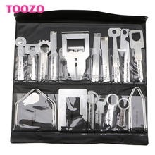 38Pcs/Set Car Stereo Radio Release Removal Tools Key Kit for Benz Sony Ford Audi #G205M# Best Quality