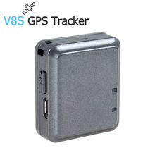 Micro GPS Tracker and GSM GPRS Burglar Alarm for The Child Personal Pet Motorcycle Locator Google Map Positioning Tracking  V8