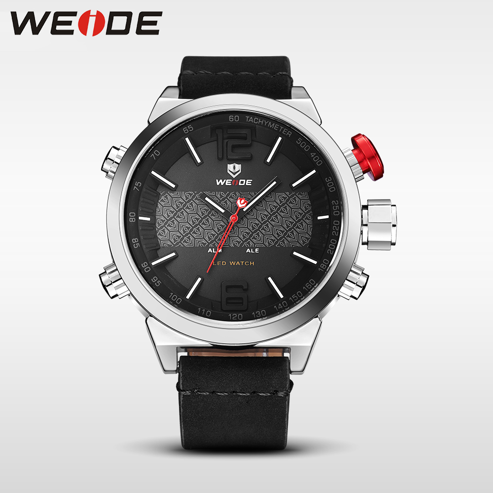 WEIDE clock men watches top brand luxury sport led watch men digital relogio militar masculino automatic chronograph waterproof<br>