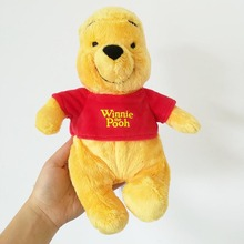 1pcs Original Winnie Bear Plush Doll Soft Stuffed Toy for Christmas Birthday gifts 25CM