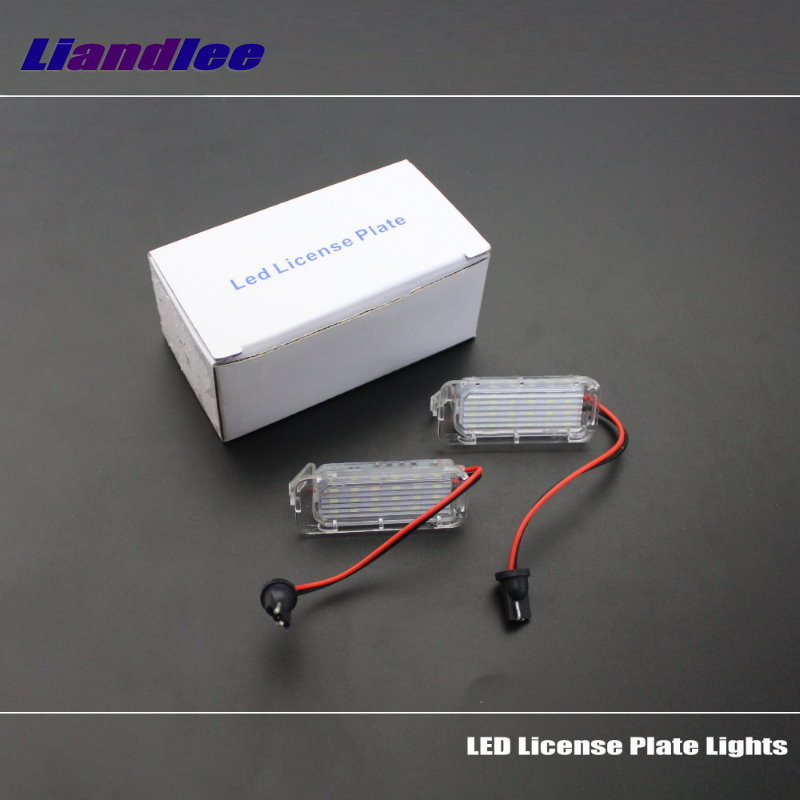 Liandlee For Ford Escape / EcoSport / Fiesta / Galaxy 2004~2016 LED Car License Plate Light / Number Frame Lamp / LED Lights<br>