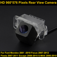 PAL HD 960*576 Pixels high definition Parking Rear view Camera for Ford Mondeo Focus Fiesta Escape S-MAX Car Waterproof Camera(China)