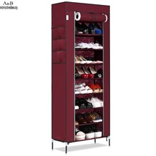 Homdox Shoe Cabinet Shoes Racks Storage Large Capacity Home Furniture Diy Simple Portable Shoe Rack Organizer