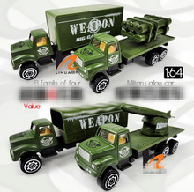Hot sale super cool !1 :64 camouflage military vehicles glide alloy car toy,4 pieces lot,Children's favorite,free shipping(China)