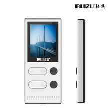 Original RUIZU X22 MP3 Music Player With 1.8 Inch Screen Can Play 80 hours 8gb Music Player With FM Radio,Voice Recording,E-Book(China)