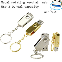 Whosale 3.0 USB Disk 4GB 8GB 16G 32G Stainless Steel Usb Flash Drive Metal Usb Flash Drive usb Flash Memory Pen Drive 64gb(China)
