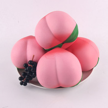 1PC NEW 6CM 11CM Jumbo kawaii Squishy Slow Rising Peach Pendant Phone Straps Charms Queeze Kid Toys Cute squishies Bread