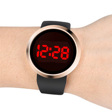 Good News 9s & cheap New Fashion Watches Clock Waterproof Men's LED Touch Screen Day Date Silicone Wrist Watch #500717