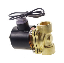 "AC220V 1/2"" Electric Solenoid Valve Water Air N/C Gas Water Air 2W160-15(China)"