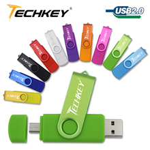 USB Flash Drive pen drive Smart Phone 4GB 8GB 16GB 32GB 64GB OTG pendrive external storage micro usb memory stick for Samsung(China)