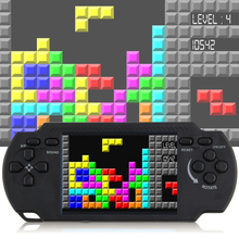 Classic nostalgia Gaming Tetris Portable Handheld Game Console Children's classic Game hand-held gaming device For PSP Gaming(China)