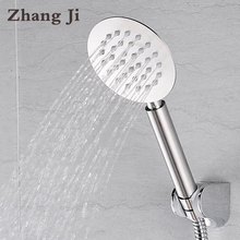 High Quality Whole Stainless Steel Ultrathin 10cm Big Hand Shower Head Water Saving Nozzle Sprayer Rainfall Shower Head ZJ056
