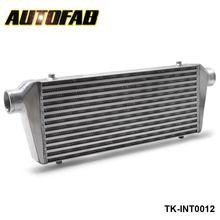 "AUTOFAB -Universal Turbo Intercooler 550x230x65mm Front Mount For Honda Civic Integra Saab 2.5"" Inlet & Oulet TK-INT0012"