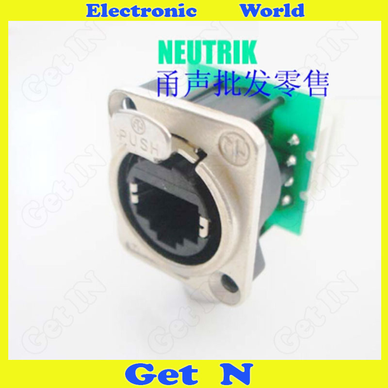 2pcs Swiss NE8FDV-Y110 Connector Network RJ45 Panel Mounting Jack Network Module Socket<br><br>Aliexpress