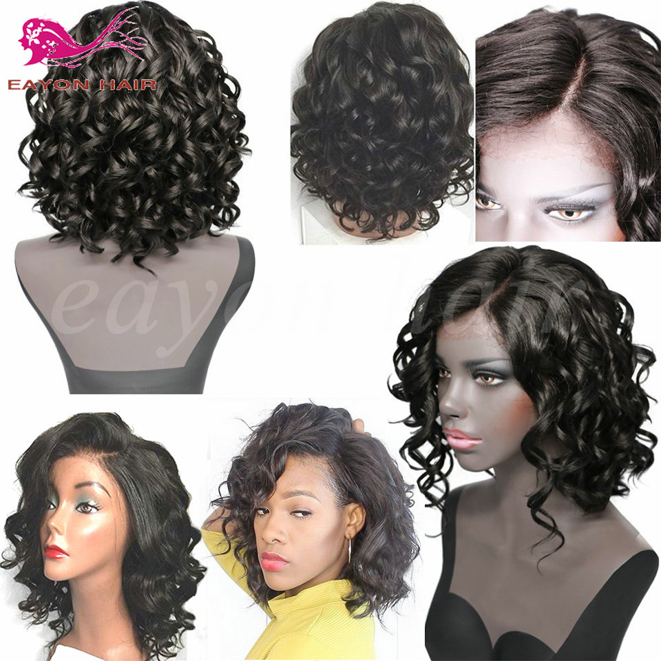 Short Curly Synthetic Lace Front Wigs For Black Women Heat Resistant Lace Front Synthetic Wigs Curly Front Lace Wig Synthetic<br><br>Aliexpress