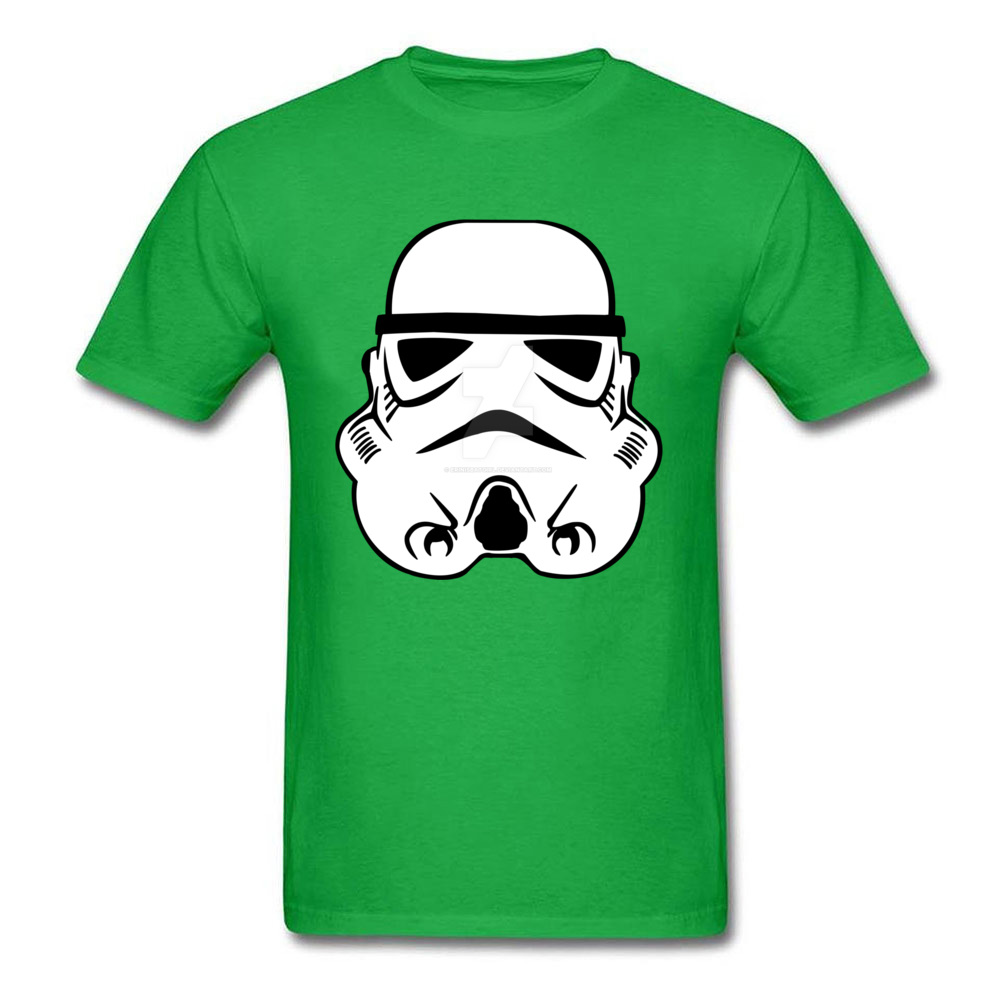 Newest Stormtrooper 10 Short Sleeve T-Shirt Summer/Autumn Round Neck Pure Cotton Tops & Tees for Men Tops Shirt Simple Style Stormtrooper 10 green