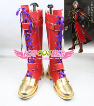 Sengoku Musou Samurai Warriors Sanada Nobuyuki cosplay Shoes Boots Custom Made 4650